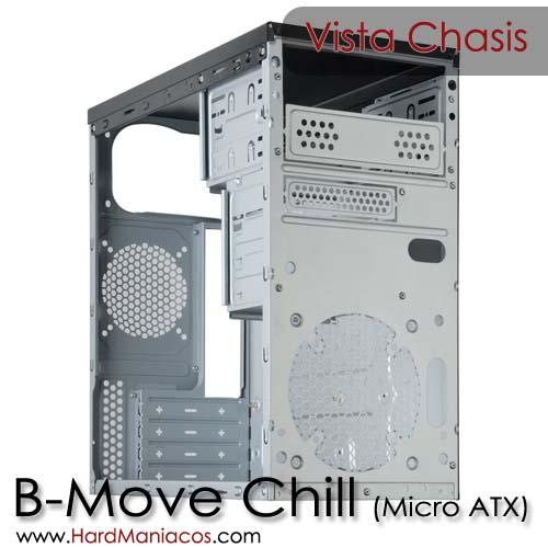 b move chill micro atx frontal desmontado