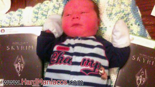 skyrim dovahkiin bebe