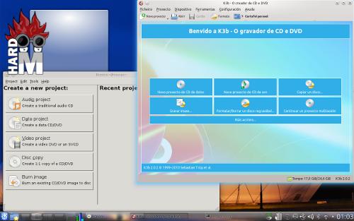 Grabación de medios ópticos en Linux