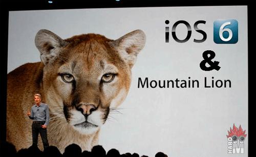 iOS 6 y Mountain Lion, la renovación de Apple - Hardmaniacos
