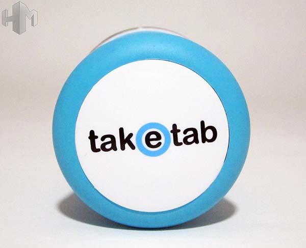 TakeTab azul parte de arriba