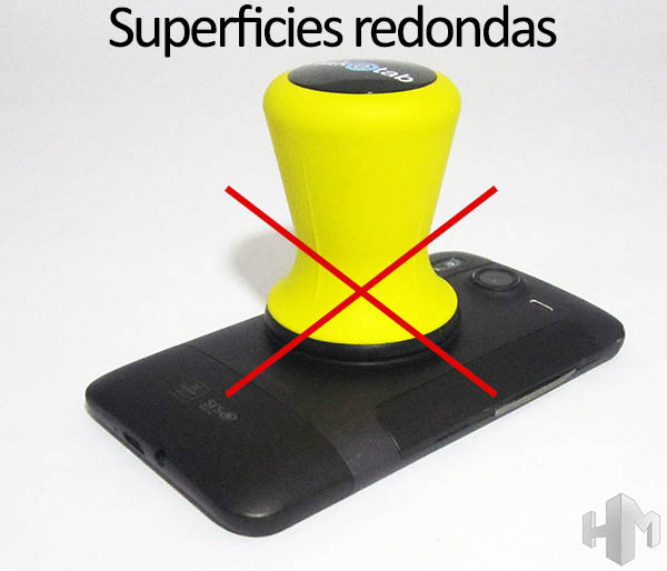 TakeTab sobre superficies redondas