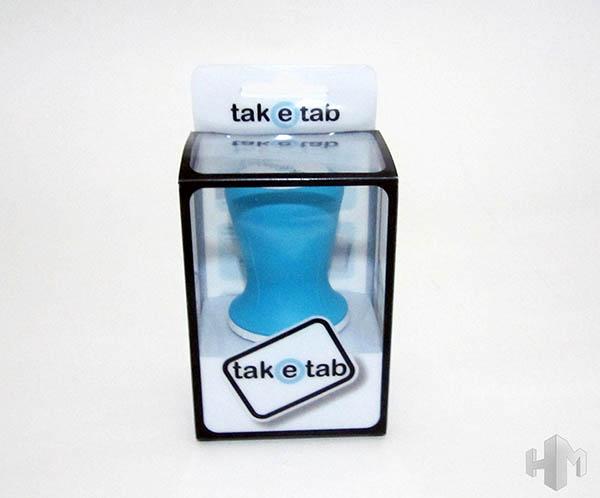 TakeTab vista delantera caja