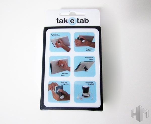TakeTab vista trasera caja