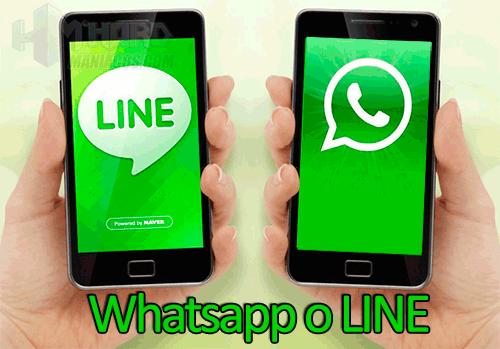 Whatsapp o LINE