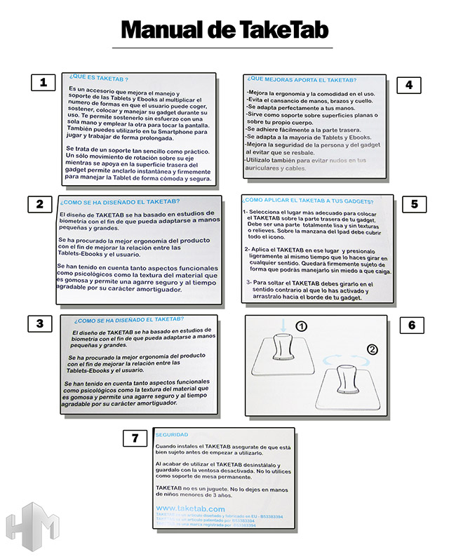 takeTab Manual completo