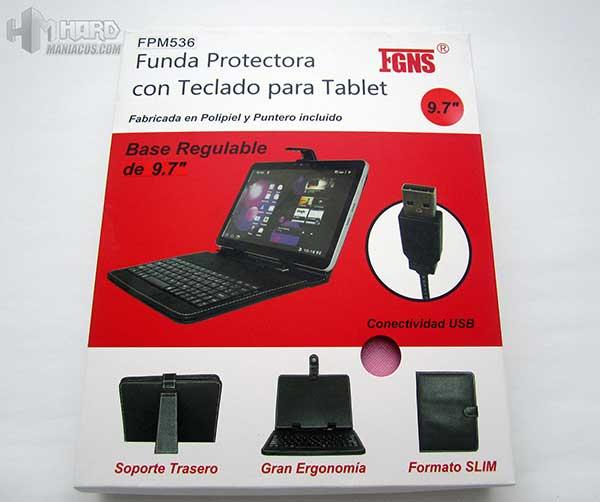 Funda Tablet 9.7 Pulgadas con teclado
