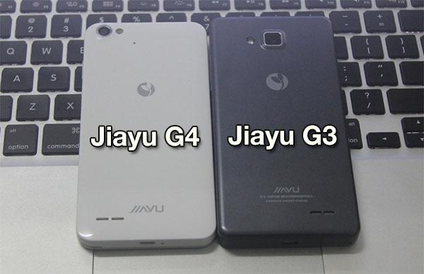 Jiayu G3 vs Jiayu G4