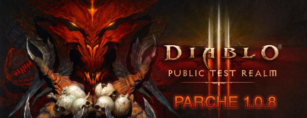 Diablo 3 parche 1.0.8