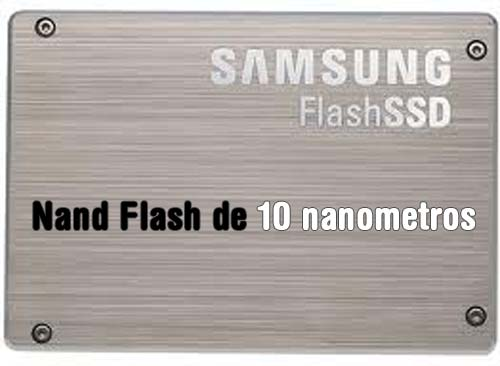 Discos SSD samsung Nand Flash 10nm