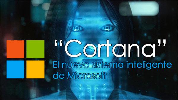 Cortana el siri de microsoft
