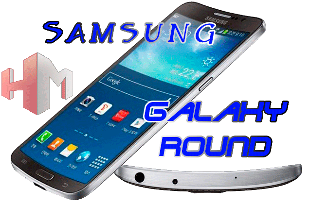 Samsung Galaxy Round Portada
