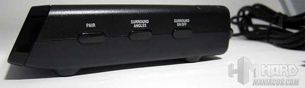 Cascos-EarForce-X-Ray-botones-regulacion-Surround-en-emisor-receptor