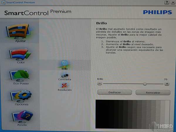 Monitor-Philips-menu-SmartControl-Premium-ajustar-l