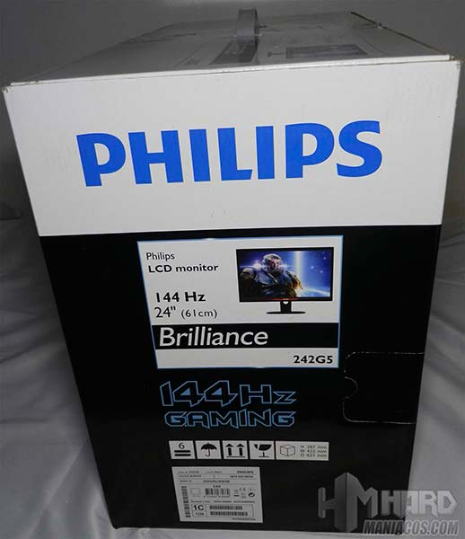 Monitor-Philips-Gamer-Caja-lateral