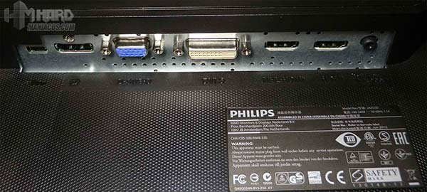 Monitor-Philips-Gamer-Conectores
