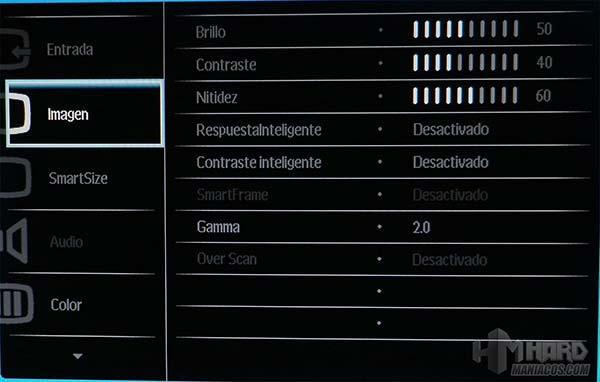 Monitor-Philips-Gamer-OSD-2-Imagen