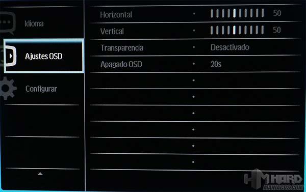 Monitor-Philips-Gamer-OSD-6-Ajustes-OSD