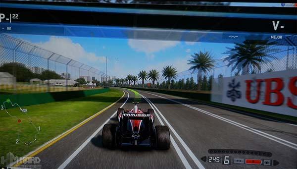 Monitor-Philips-Gamer-SmartImage-juego-F1-modo-carreras-activado