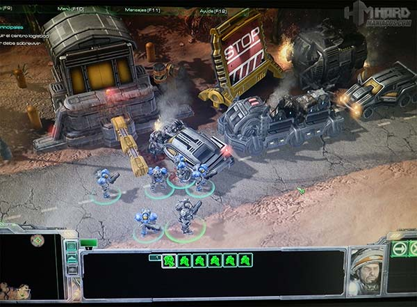Monitor-Philips-Gamer-SmartImage-juego-Star-Craft-modo-RTS-desactivado