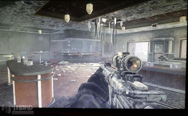 Monitor-Philips-Gamer-SmartImage-juego-call-of-duty-modo-FPS-activado