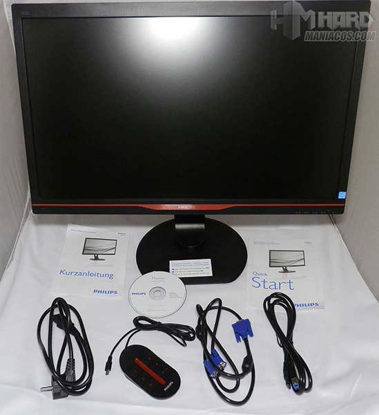 Monitor-Philips-Gamer-contenido-y-cableado