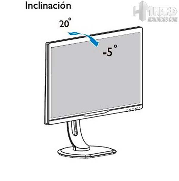 Monitor-Philips-Gamer-movimiento-inclinacion