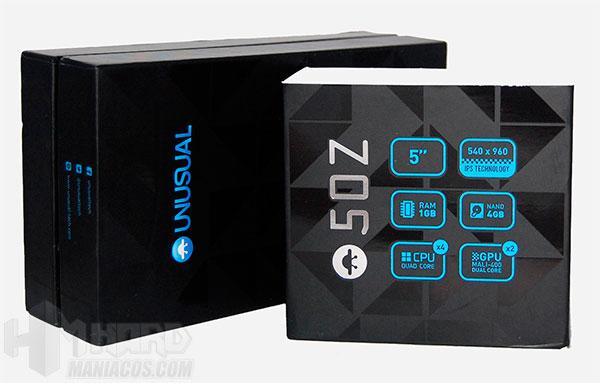 Smartphone-Unusual-50Z_caja