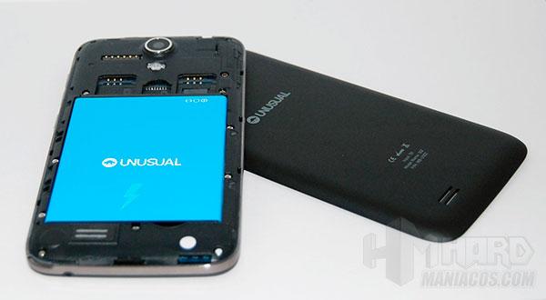 Smartphone-Unusual-50Z_vista-trasera-desmontado