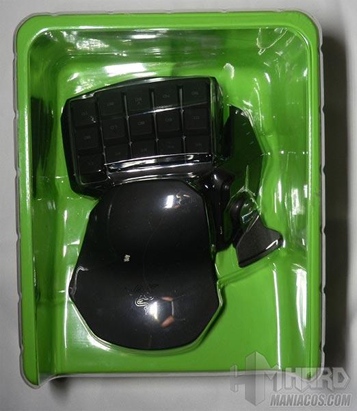 Razer-Tartarus-plastico-verde-con-plastico
