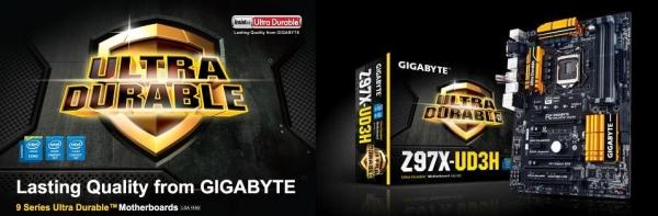 Gigabyte Serie 9 Ultra Durable