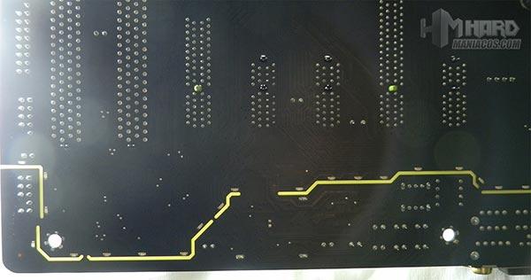 Placa-Base-Gigabyte-LED-en-PCB