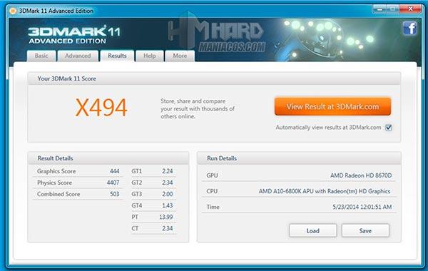 Placa-Base-Gigabyte-Test-3DMark-Xtreme-grafica-integrada