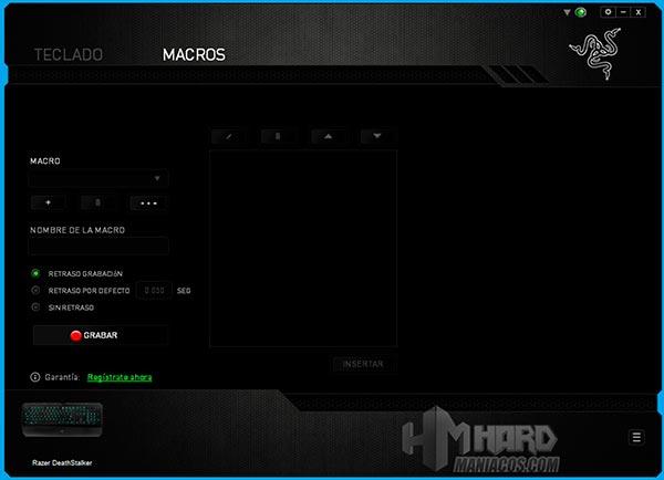 Teclado-Razer-DeathStalker-Synapse-Macros