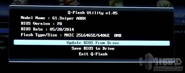 3, Tutorial actualizar bios gigabyte