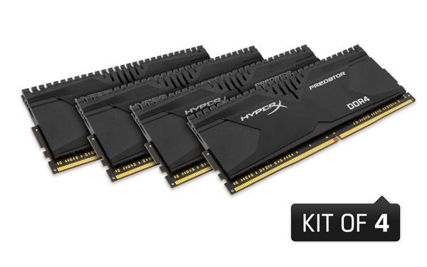 HyperX DDR4 kit4