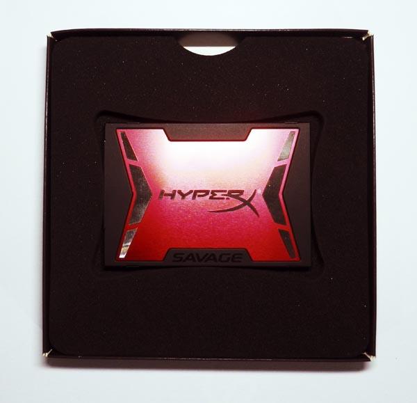 SSD HyperX Savage Contenido