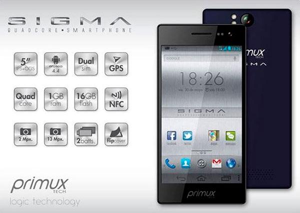 Primux-sigma-caracteristicas