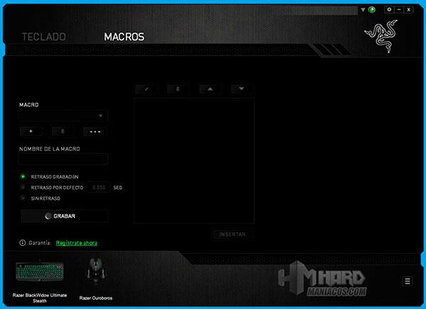 Teclado-Razer-BlackWidow-Ultimate-Stealth-Synapse-Macros