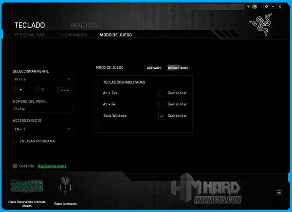 Teclado-Razer-BlackWidow-Ultimate-Stealth-Synapse-Modo-Juego