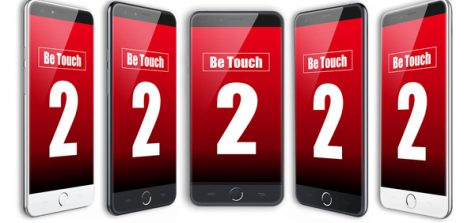 uleFone be touch 2 cabecera