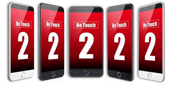 uleFone be touch 2 cabecera