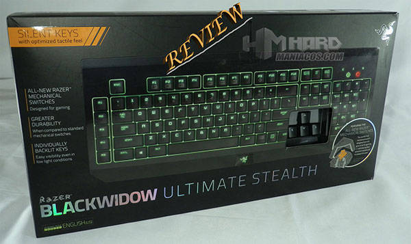 BlackWidow Ultimate Stealth Portada