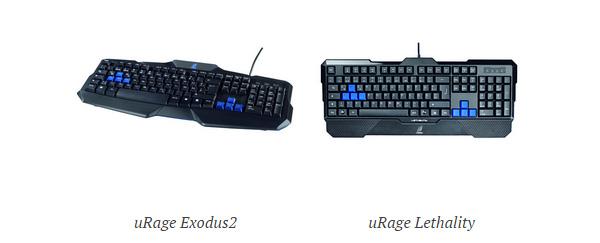 uRage_teclados