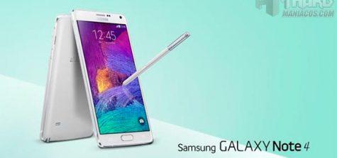 Galaxy Note 4 Portada
