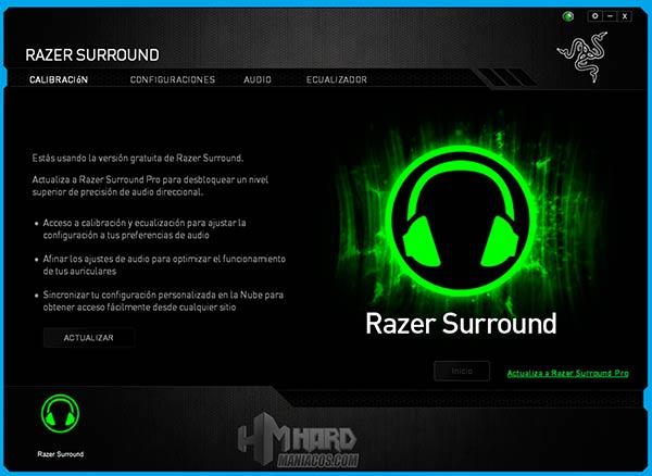 Razer-Surround,-Calibracion