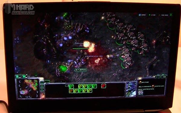Portatil-GT80Titan-juego-StarCraft