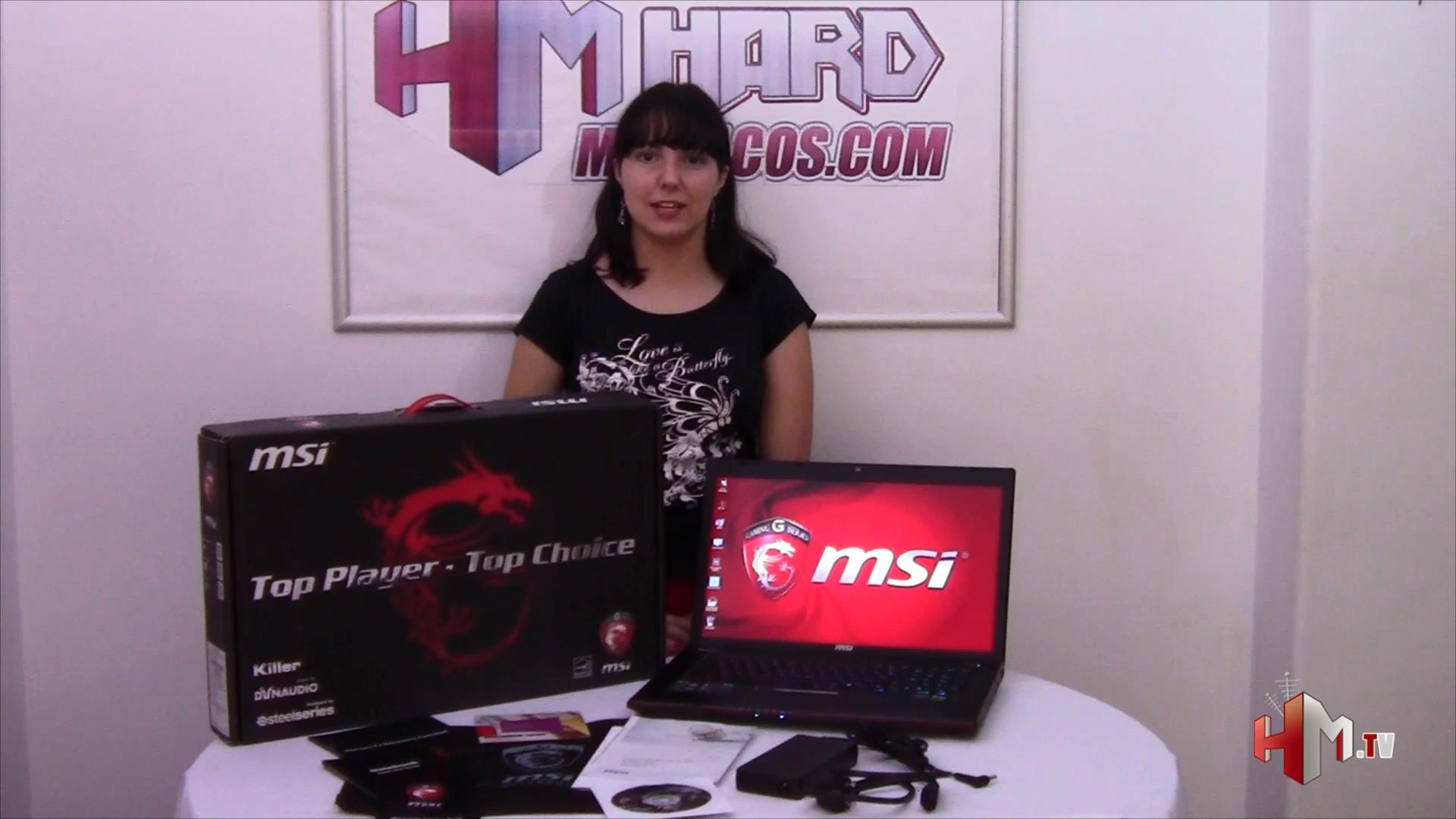 videoreview portátil gaming msi ge70 2pe apache pro