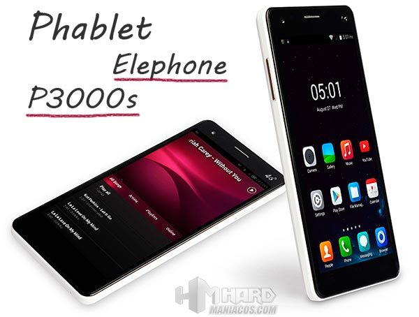 Elephone P3000s Portada