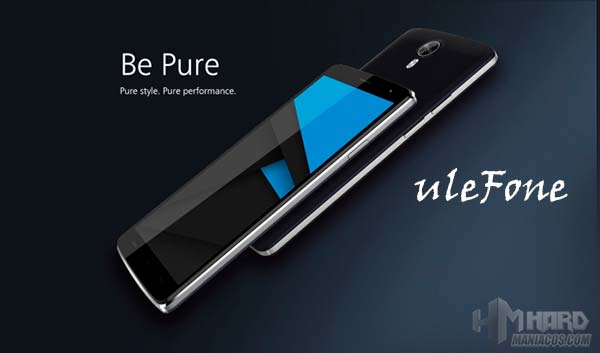 uleFone Be Pure Portada